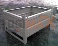 pojemnik transportowy metalowy