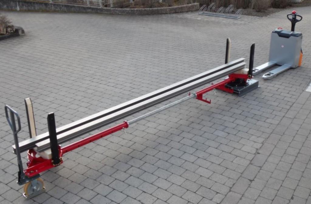 Wózek do ładunków długich - DupleXXtrailer