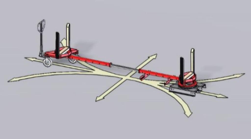 Wózek do dłużyc - DupleX trailer